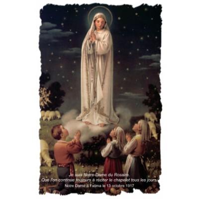 Carte prière : Notre-Dame du Rosaire
