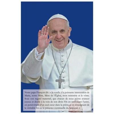 Carte prière : Pape François