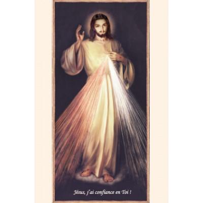 Carte Prière : Jésus j'ai confiance en toi !