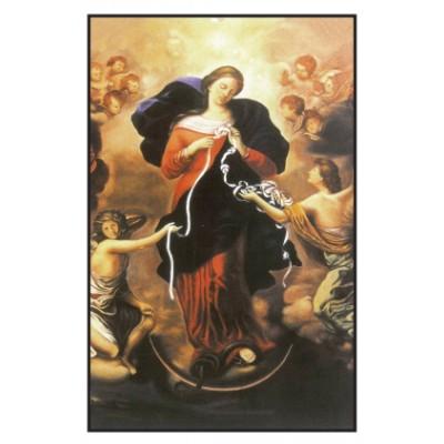 Carte Prière : Notre Dame qui défait les noeuds