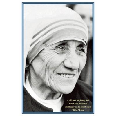 Carte prière : à Mère Teresa