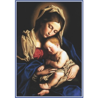 Carte prière :  Maman Marie