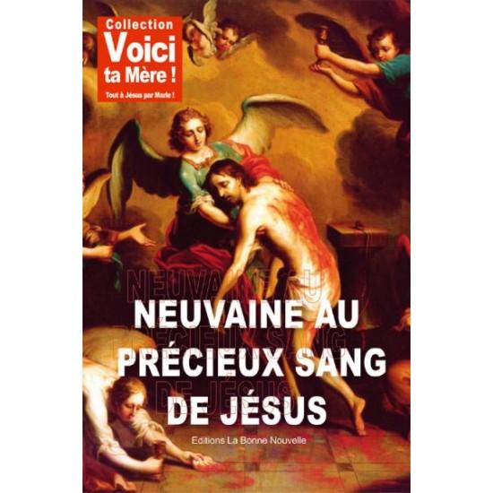 Livret : NEUVAINE AU PRECIEUX SANG DE JESUS