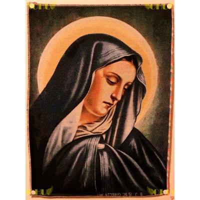 Tapisserie : Vierge Marie